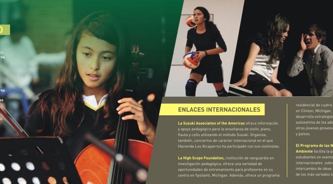 Brochure y publicaciones internas CHLA
