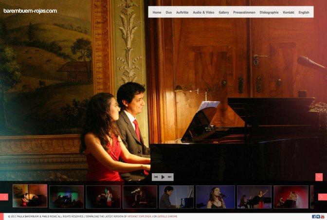 Exquisity refined type of tango in Vienna /  Barembuem-Rojas.com