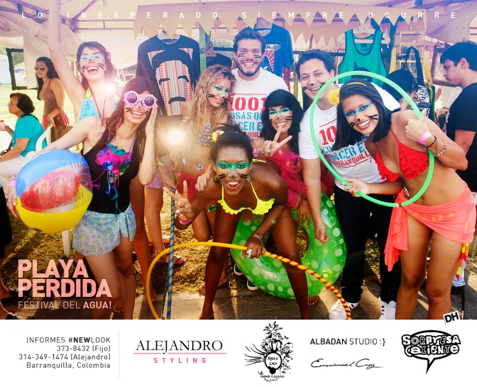 [ Playa Perdida ] Executive Production, Happening idea & photography