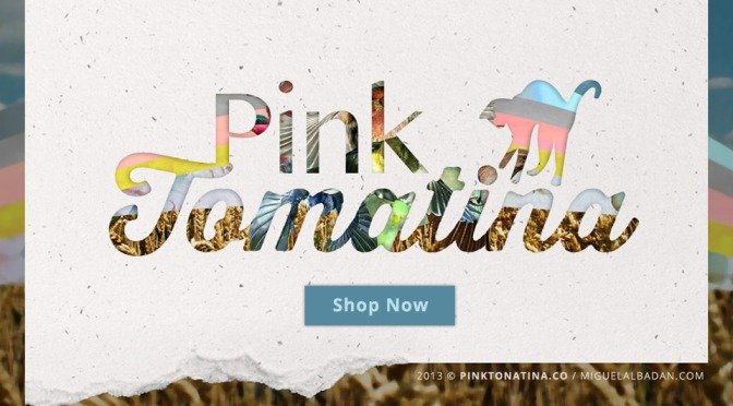 Pink Tomatina / Branding and E-commerce