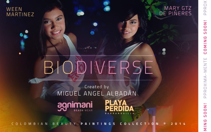 BIODIVERSE \ Colombian Beauty Paintings Collection © 2014