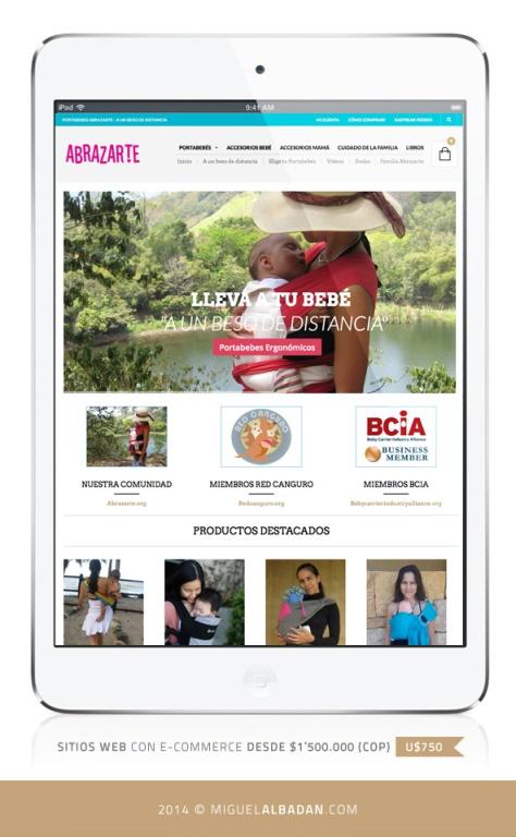 Abrazarte_iPad_view