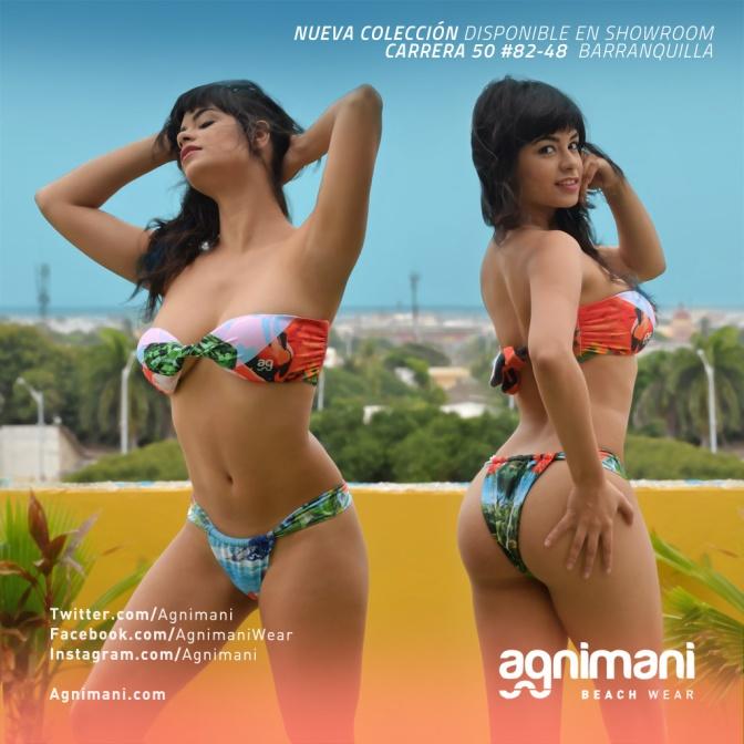 Diseño de Estampados Nueva Colección Agnimani Beach Wear / Colombian Sexy Tropical Trend 2015
