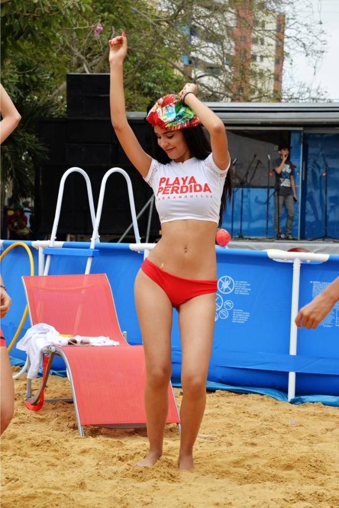 Naturalmente Sexy –  Playa Perdida en el Carnaval de Barranquilla 2015