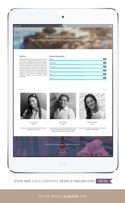 GENAVIE_iPad_view