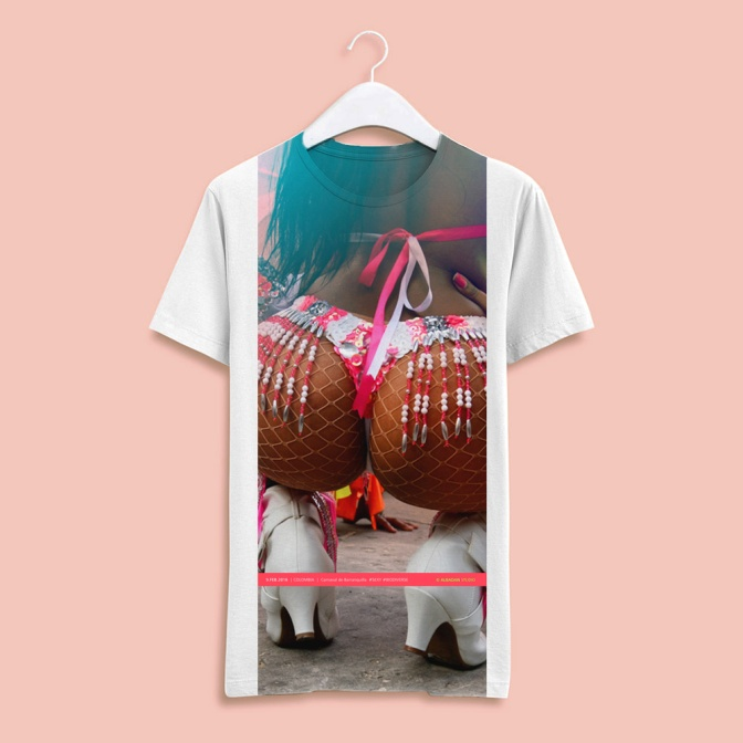 Sexy Colombian Carnival T-Shirts 2019